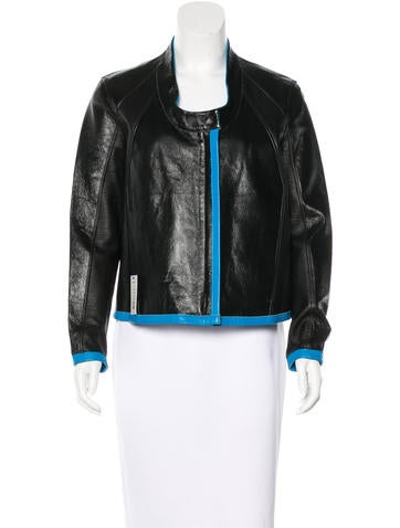 Helmut Lang Reversible Leather Jacket w/ Tags