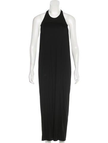 Helmut Lang Cutout Maxi Dress