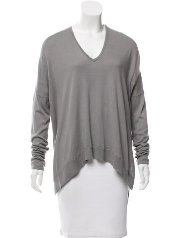 Helmut Lang V-Neck Long Sleeve Sweater w/ Tags None