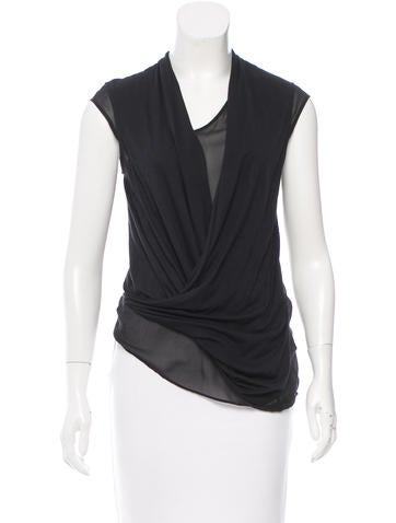 Helmut Lang Sleeveless Wool Sweater w/ Tags None
