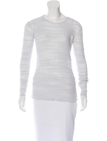 Helmut Lang Long Sleeve Knit Top None
