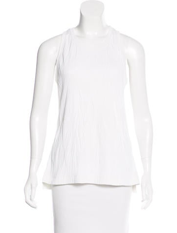 Helmut Lang Sleeveless Knit Top None