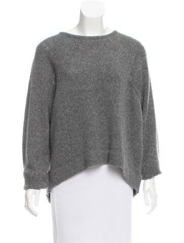Helmut Lang Wool-Blend Rib Knit Sweater w/ Tags None