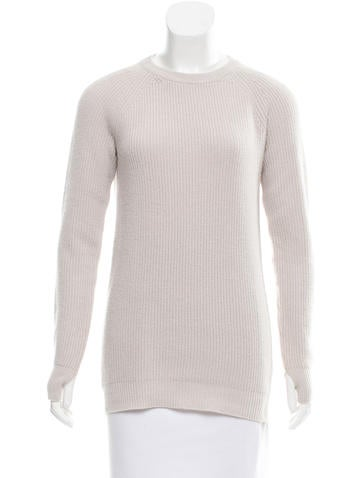 Helmut Lang Wool Long Sleeve Sweater None