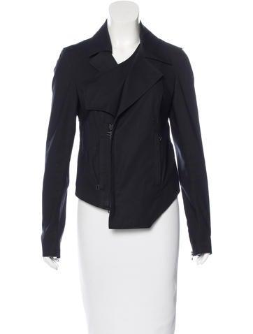 Helmut Lang Asymmetrical Zip-Front Jacket