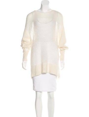 Helmut Lang Mohair & Alpaca Sweater None