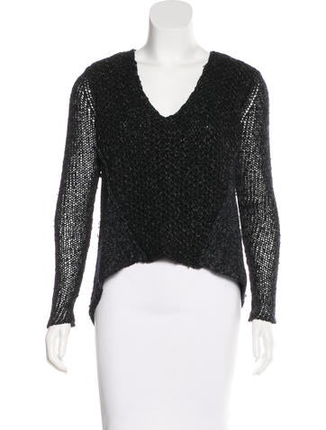 Helmut Lang Wool & Silk Sweater None