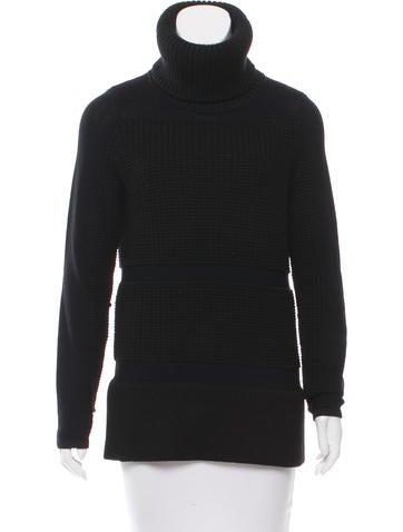 Helmut Lang Oversize Turtleneck Sweater None