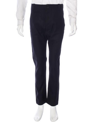 Helmut Lang Wool Tapered Trousers w/ Tags None