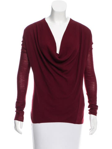 Helmut Lang Wool Knit Top None