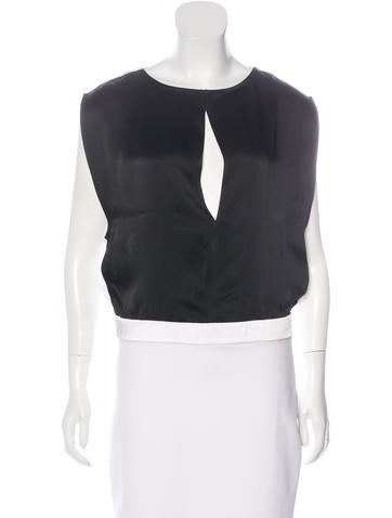 Helmut Lang Colorblock Sleeveless Top None