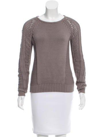 Helmut Lang Rib Knit Sweater None
