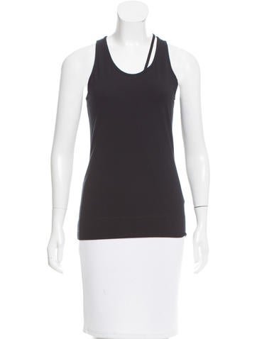 Helmut Lang Fitted Cutout Top None
