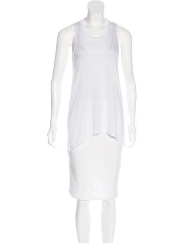 Helmut Lang High-Low Sleeveless Top None
