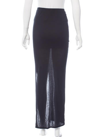 helmut lang lightweight maxi skirt w tags clothing