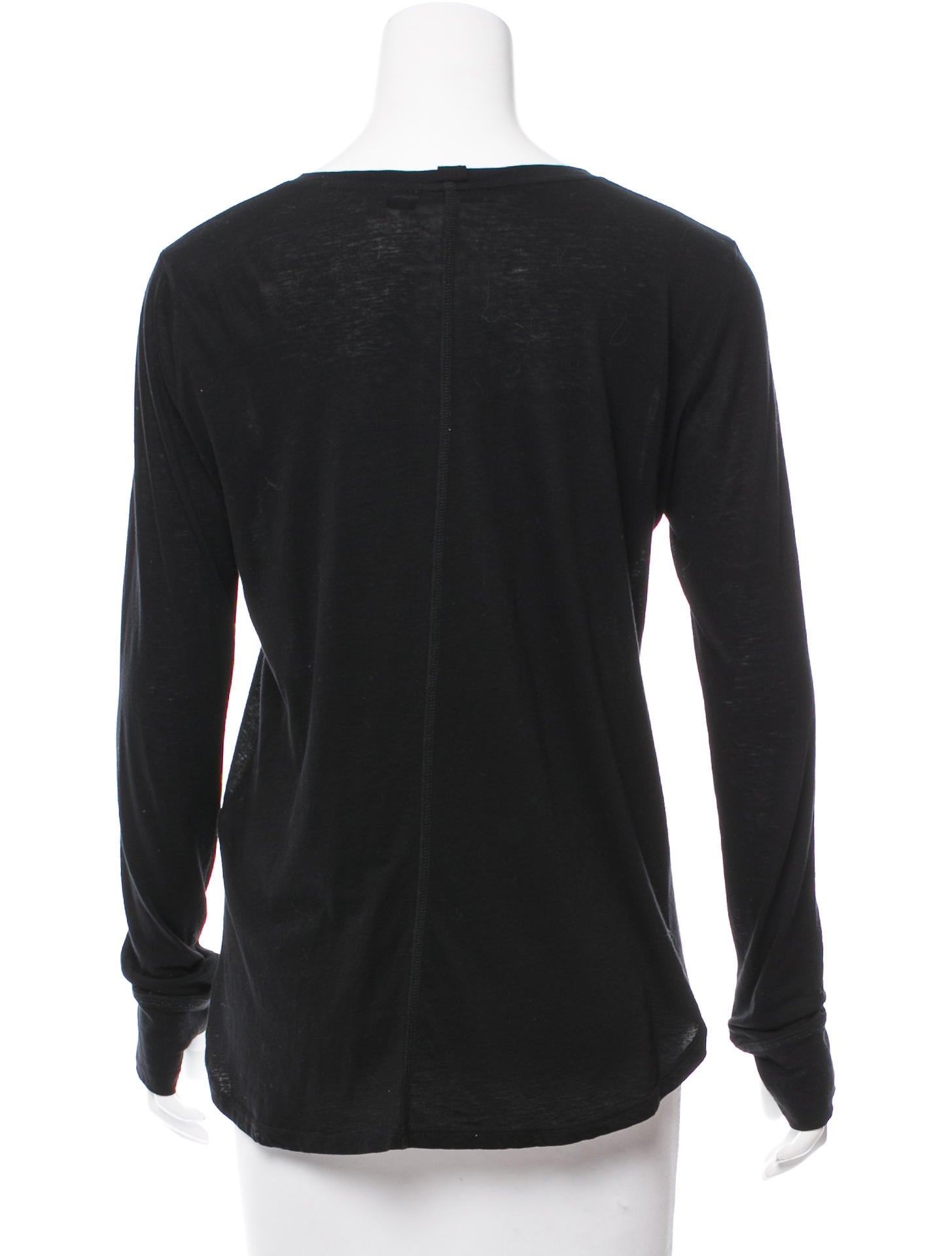 Helmut lang long sleeve t shirt clothing whelm51747 for Helmut lang t shirt