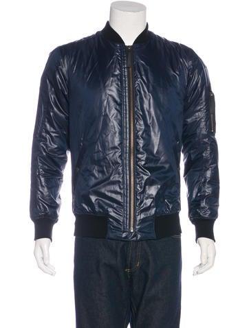 Helmut Lang Nylon Bomber Jacket None