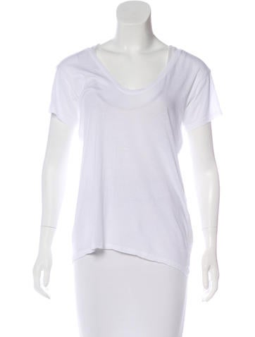 Helmut Lang Short Sleeve Knit T-Shirt None