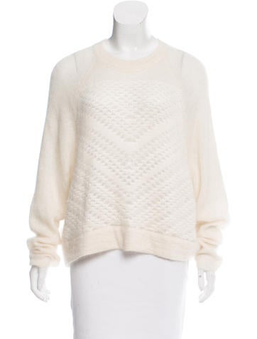 Helmut Lang Textured Oversize Sweater None