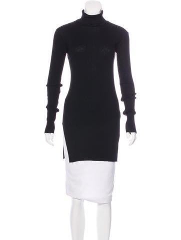 Helmut Lang Long Sleeve Rib-Knit Top None