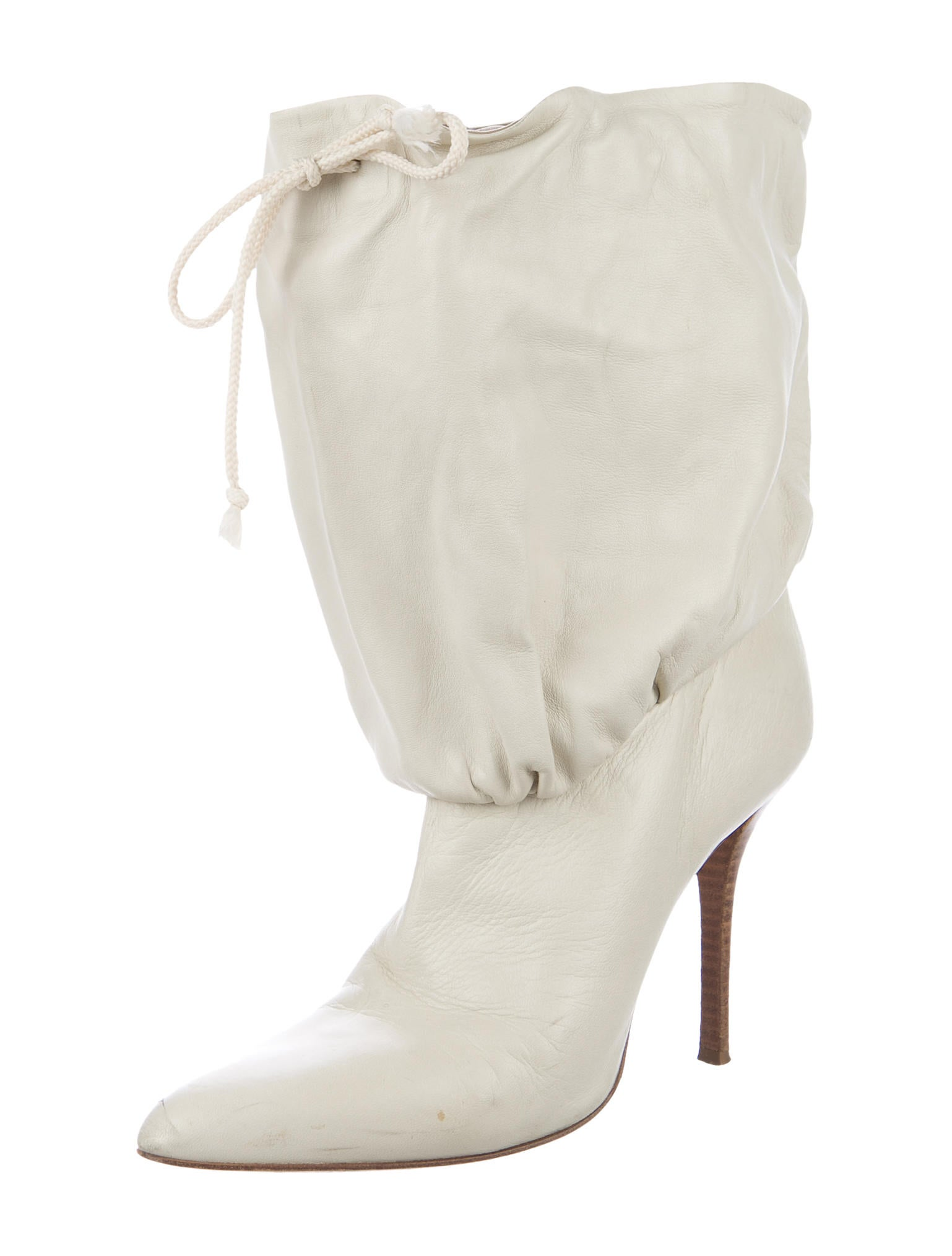 helmut lang leather ankle cuff boots shoes whelm55730
