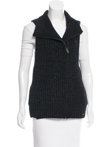 Helmut Lang Rib Knit Vest None