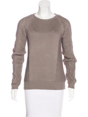 Helmut Lang Long Sleeve Knit Sweater None