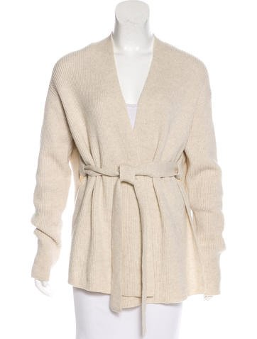 Helmut Lang Wool Knit Cardigan - Clothing - WHELM58007 | The RealReal
