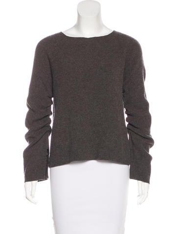 Helmut Lang Wool-Blend Knit Sweater None