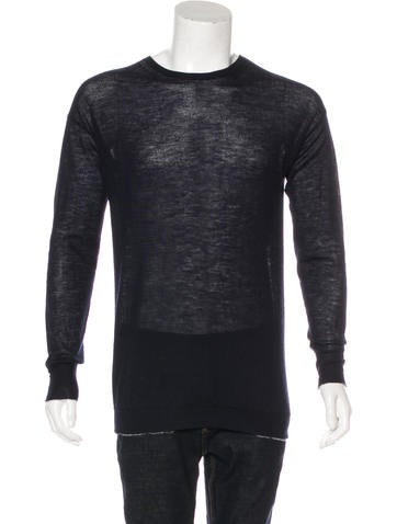 Helmut Lang Cashmere Crew Neck Sweater None