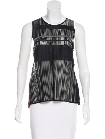 Helmut Lang Sleeveless Knit Top w/ Tags None