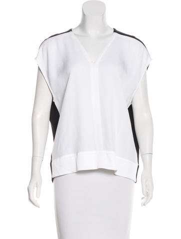 Helmut Lang Sleeveless Colorblock Top None