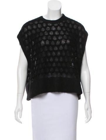 Helmut Lang Mohail Sleeveless Sweater None