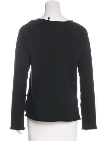 Long Sleeve Scoop Neck Sweatshirt