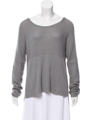 Helmut Lang Rib Knit Sweater None