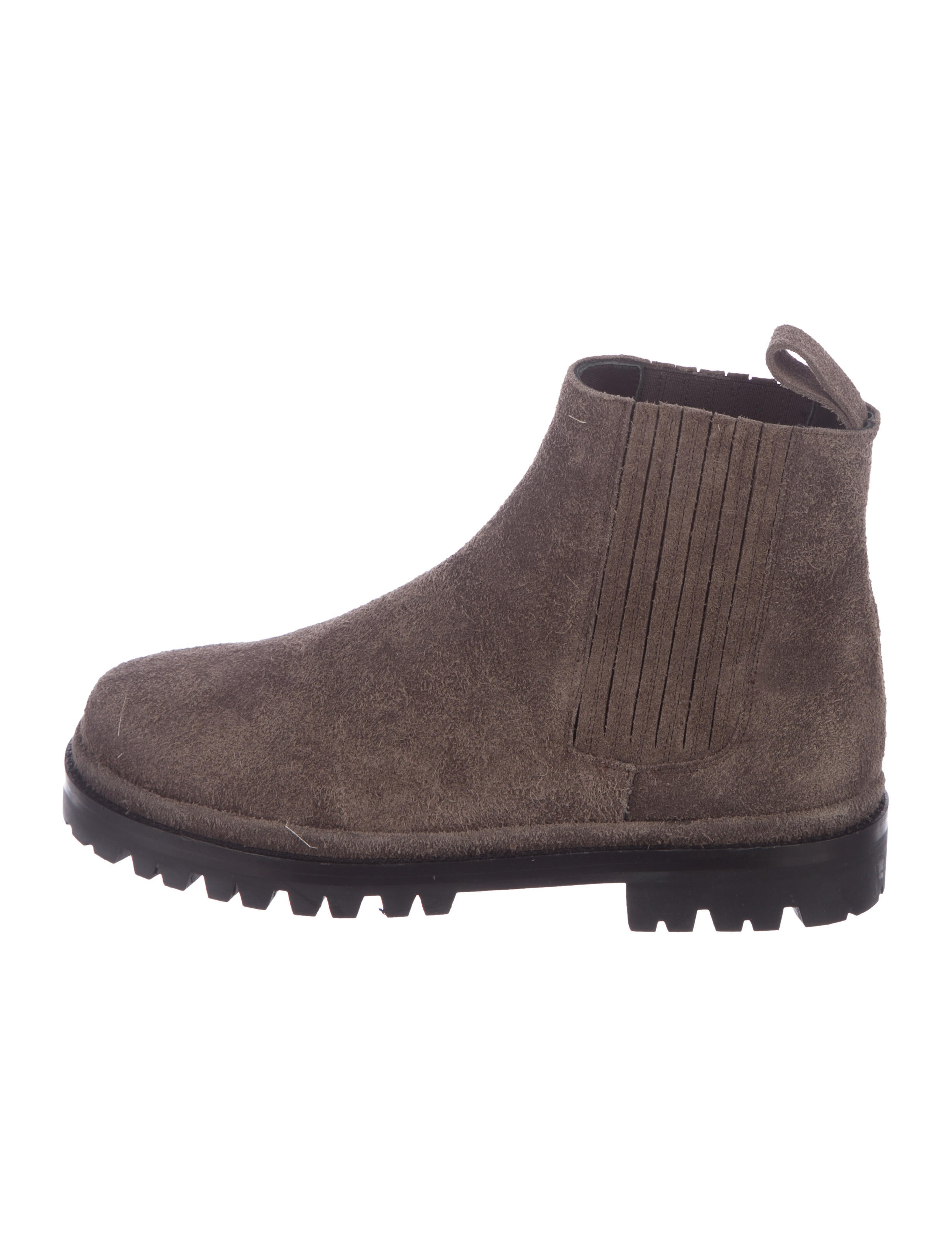 5e1a3657d17f Helmut Lang Suede Combat Ankle Boots w  Tags - Shoes - WHELM83400 ...
