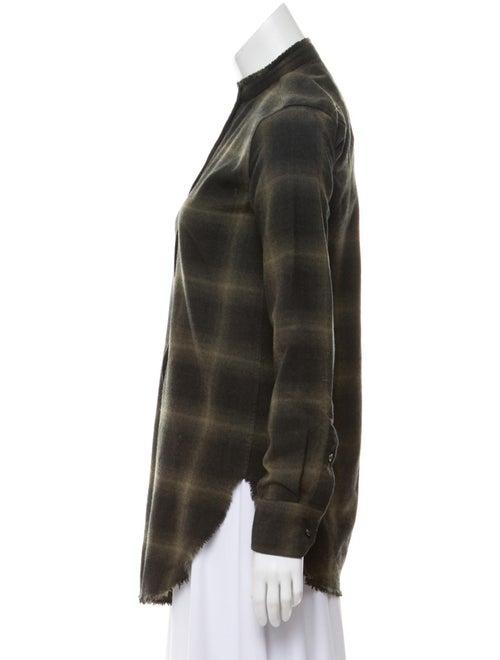 Wool Mock Neck Top