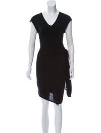 Gathered Midi Dress image 1
