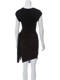 Gathered Midi Dress image 3