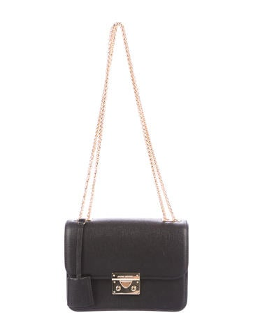 Henri Bendel Textured Leather Shoulder Bag by Henri Bendel
