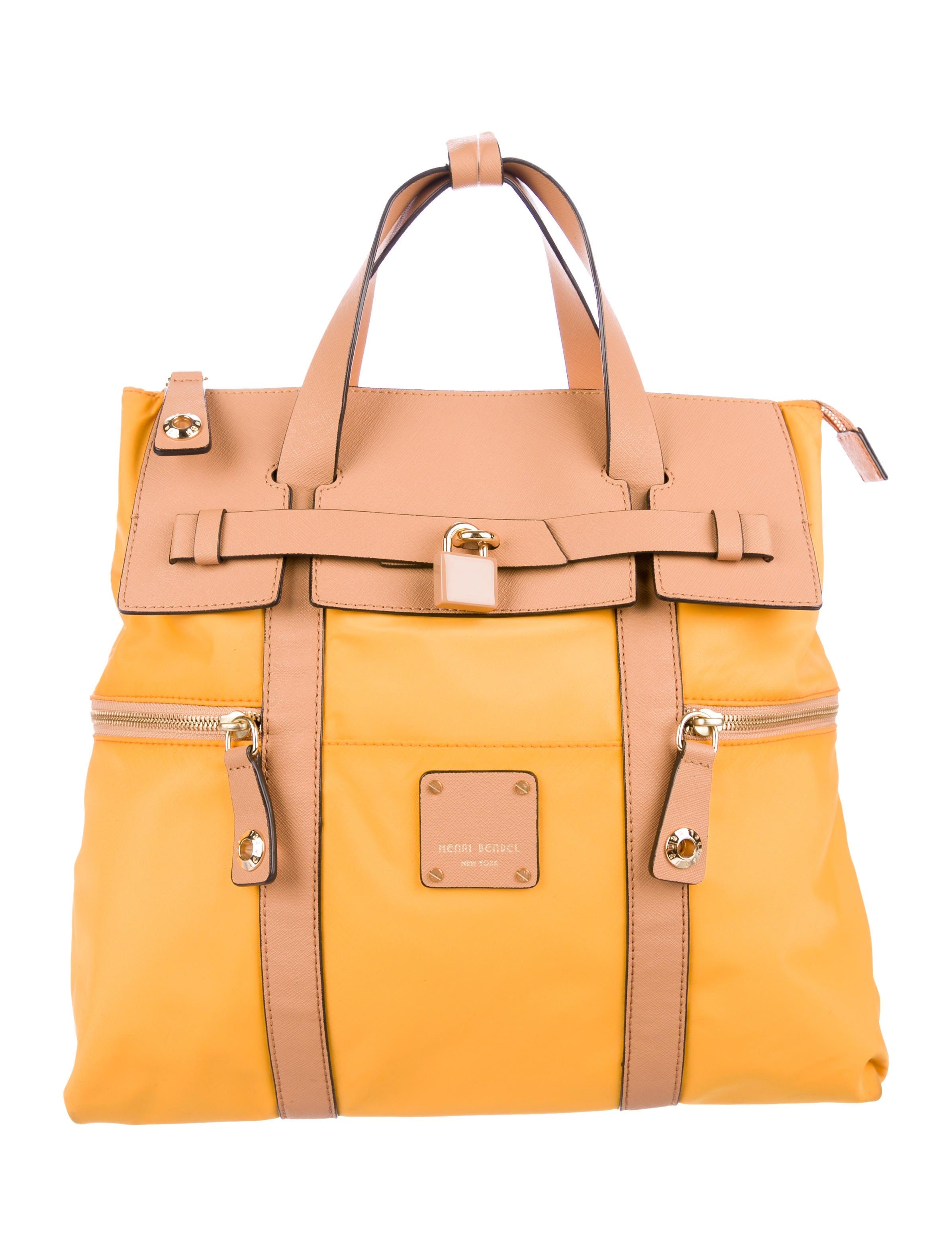 77655f94f Henri Bendel Jetsetter Convertible Nylon Backpack - Handbags ...