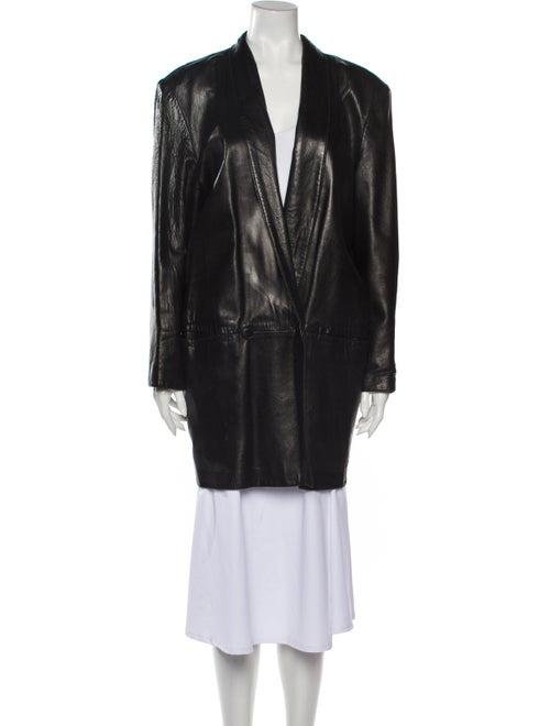 Henri Bendel Coat Black