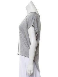 Bateau Neckline Short Sleeve T-Shirt image 2