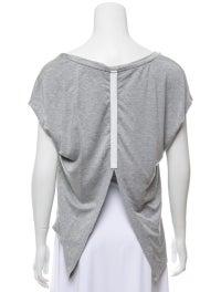 Bateau Neckline Short Sleeve T-Shirt image 3