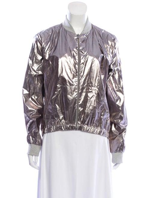 Heroine Sport Bomber Jacket Silver