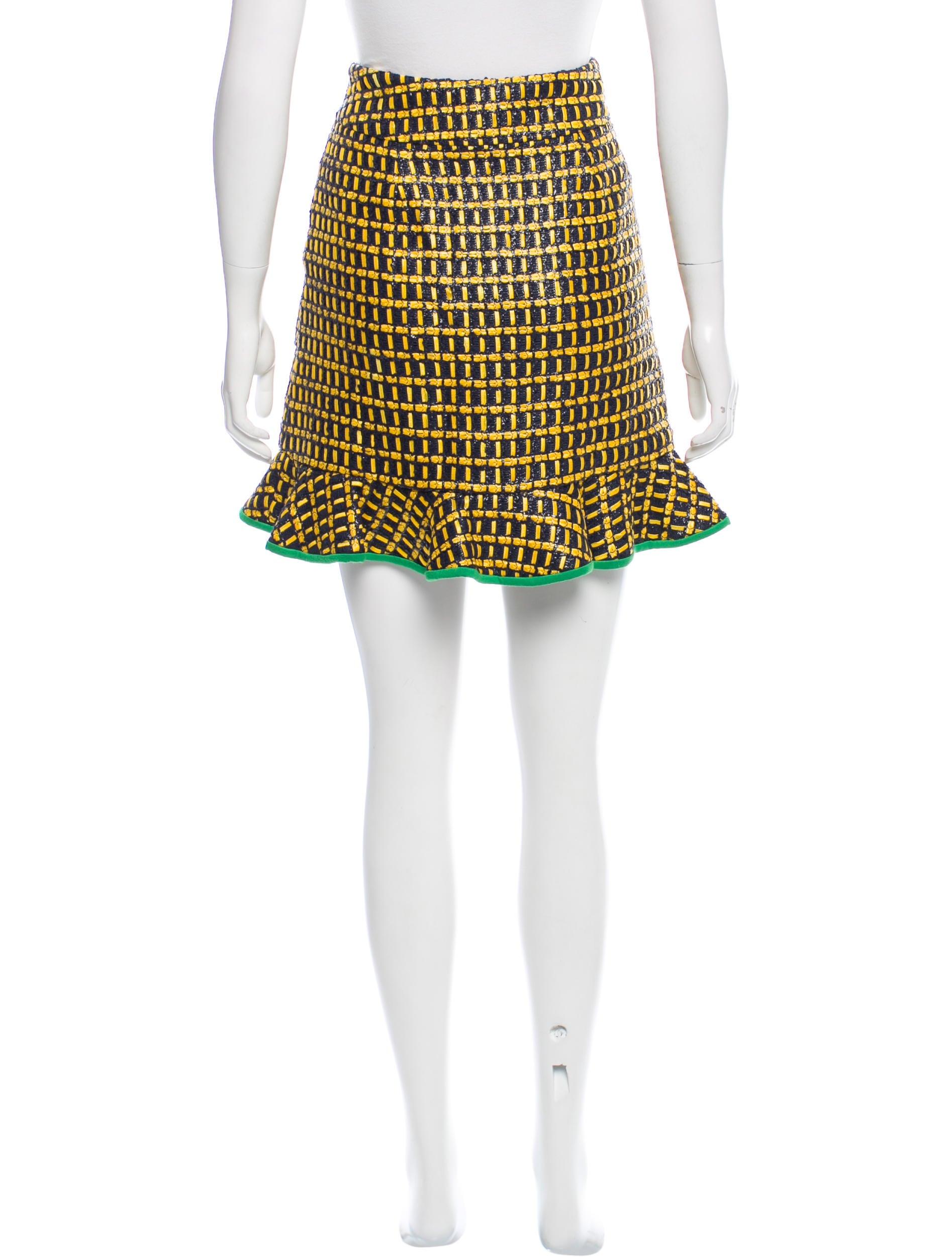 harvey faircloth tweed mini skirt w tags clothing