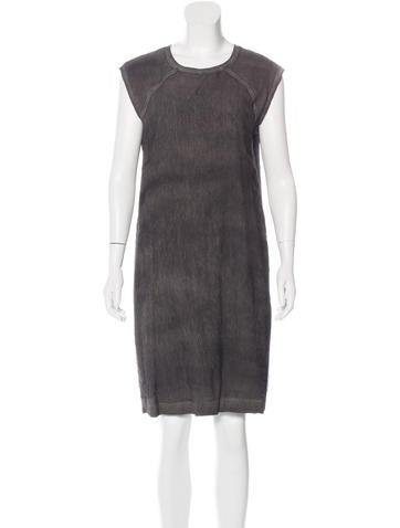 HELMUT Helmut Lang Heathered Shift Dress None