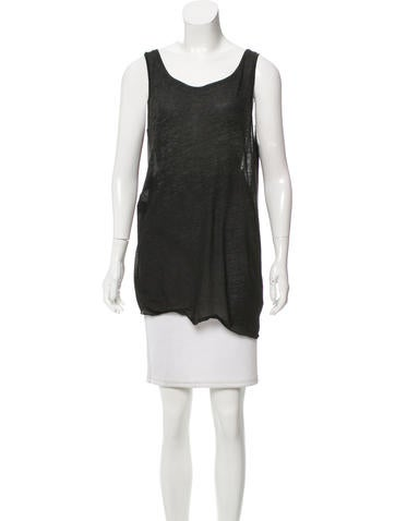 HELMUT Helmut Lang Casual Sleeveless Top None