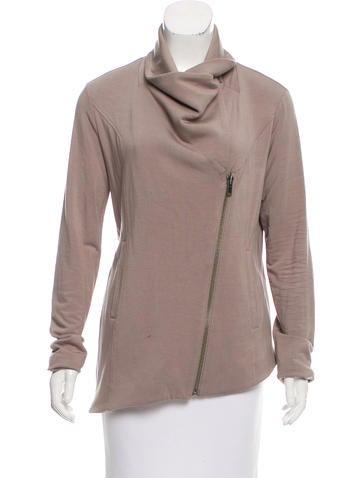 HELMUT Helmut Lang Asymmetrical Knit Jacket None