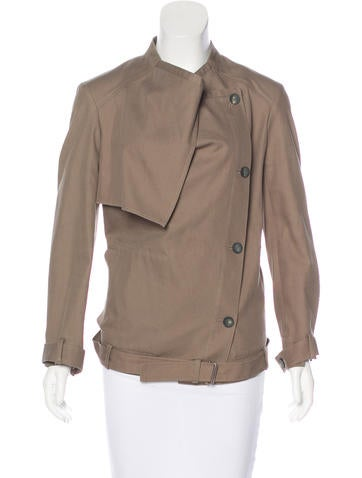 HELMUT Helmut Lang Double-Breasted Twill Jacket None
